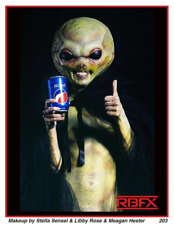Stella Sensel, Libby Rose & Meagan Hester- Pepsi Alien