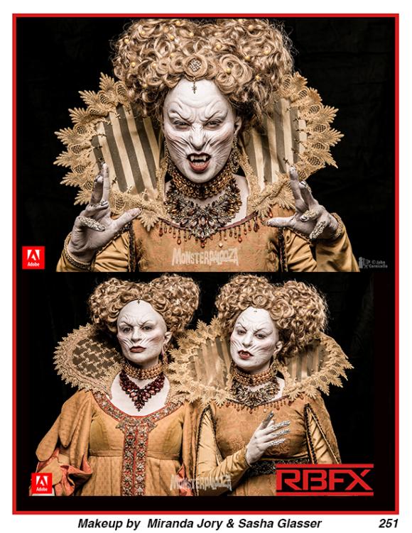 Miranda Jory & Sasha Glasser - Elizabethan Vampire Twins