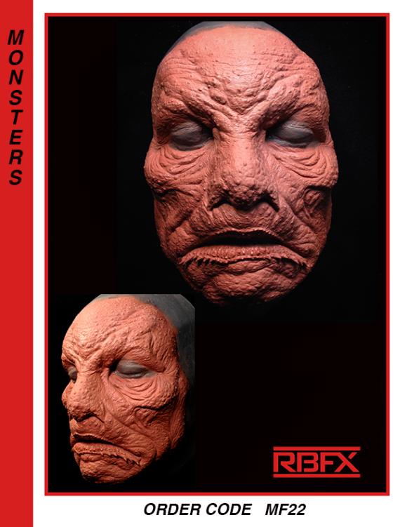 MF22 - monster/ alien / Lovecraft/ mutation/ aquatic/fish man face