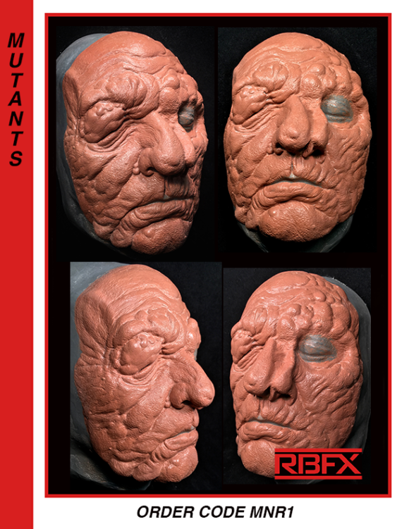 MNR1 - mutation/ deformed face
