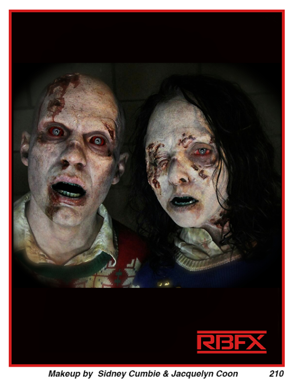 Sidney Cumbie & Jacquelyn Coon - Zombie Couple