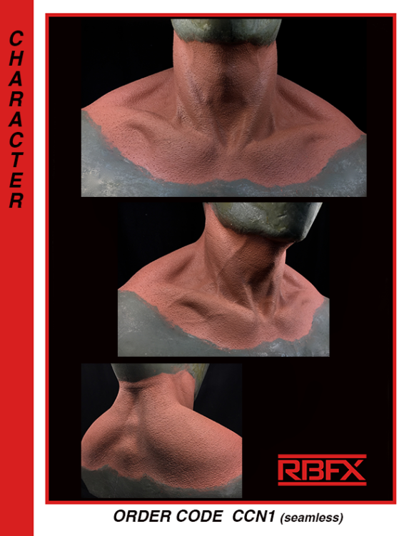 CCN1 - muscles/ monster/ character neck