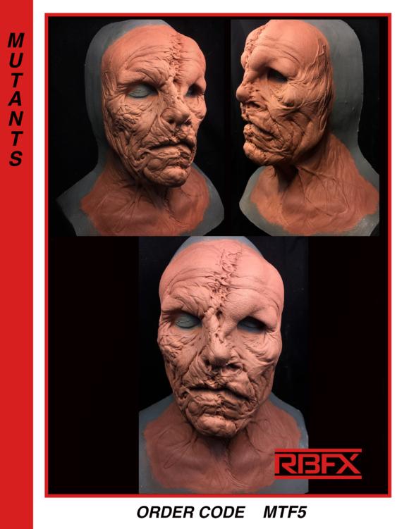 MTF5 - mutation/ deformed face & neck