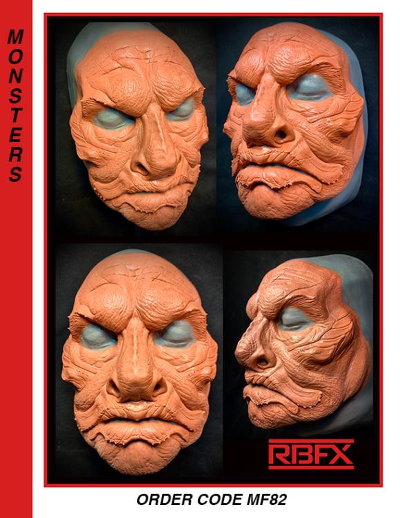MF82 - monster/ merman/ alien face