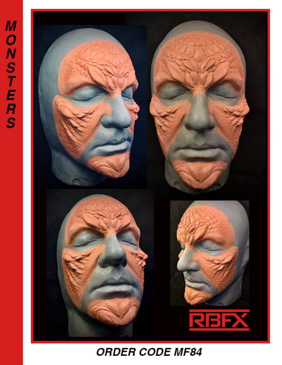 MF84 - alien face