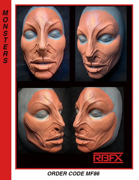 MF86-  sm. - med. alien face