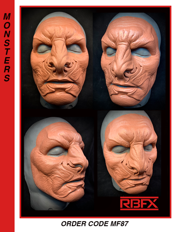 MF87 - alien face