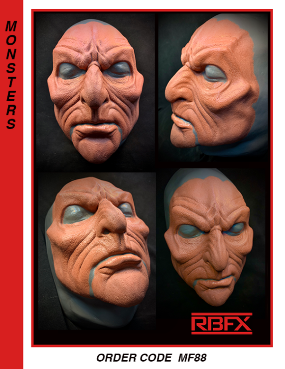 MF88 - alien face