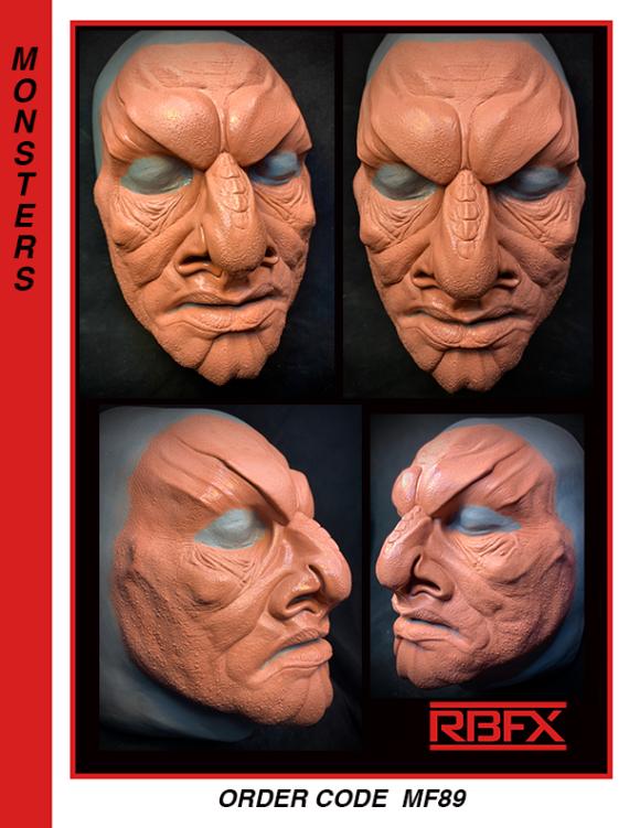 MF89 - alien face