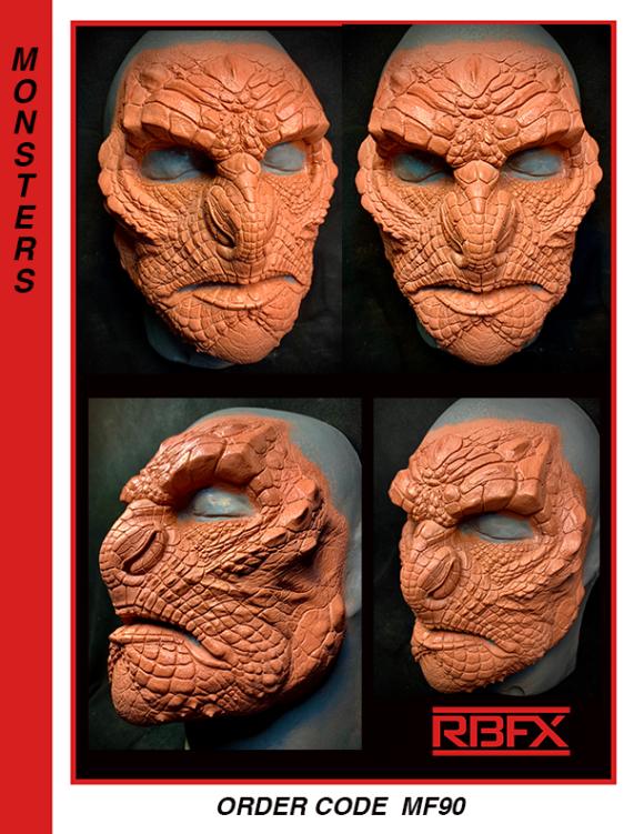 MF90 - alien face