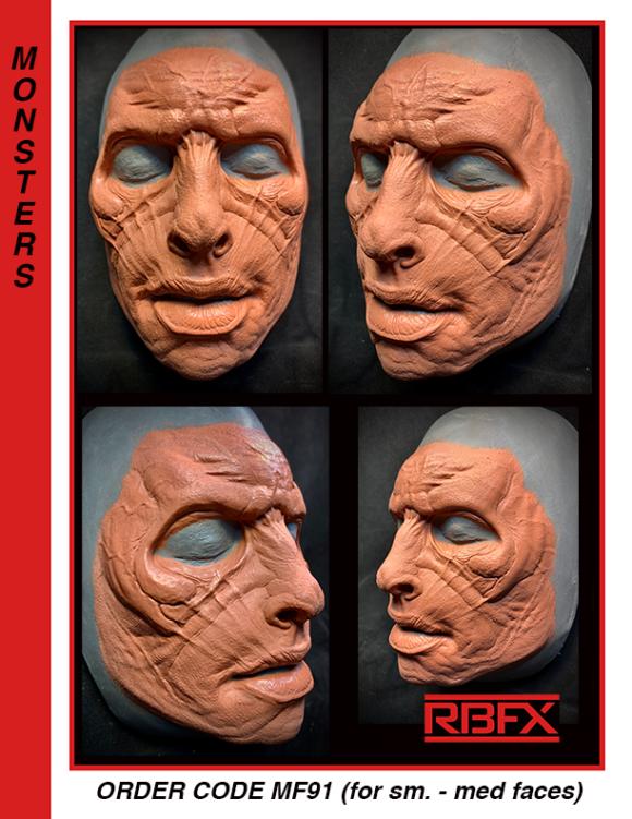 MF91 - sm.- med. alien face