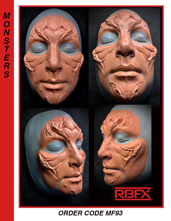 MF93- sm.- med. alien face