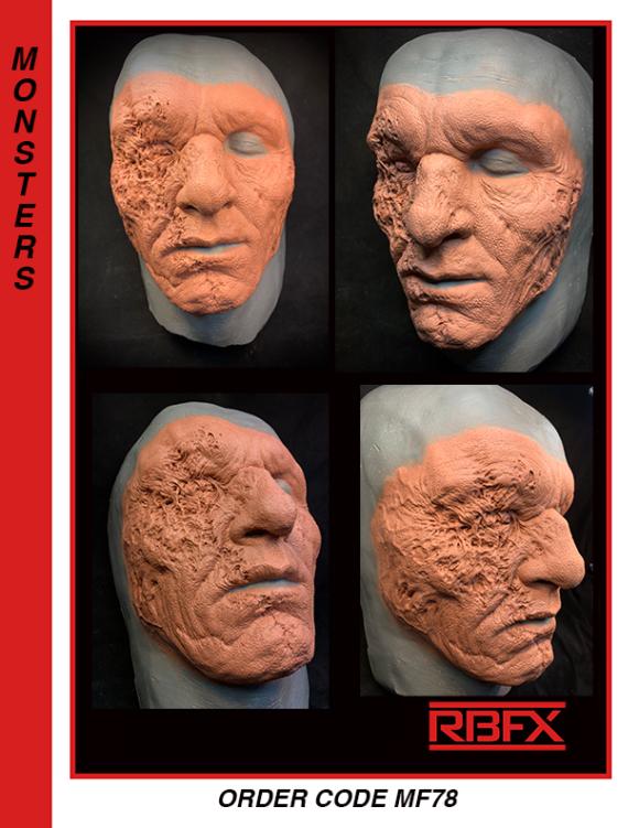 MF78 - zombie/ mutation/ deformed face