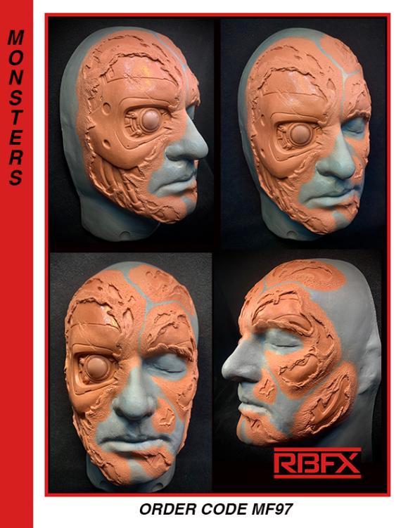 MF97 - male robot/terminator/cyborg face