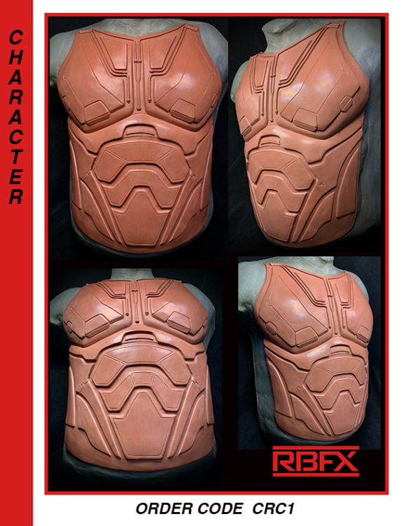 CRC1 - robot torso/ armor/ specialty costuming chest