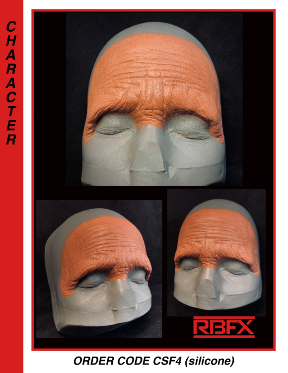 CSF4 - female old age forehead