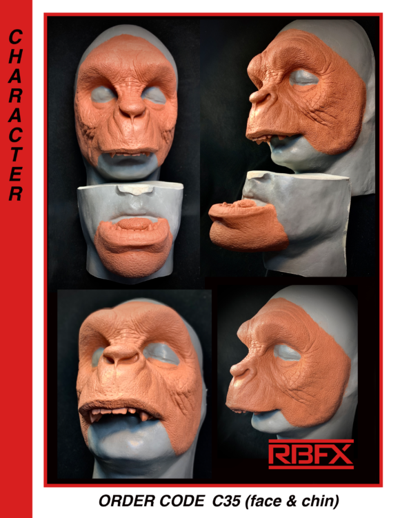 C35 - early man/ caveman/ ape man/ bigfoot/ Yeti / Sasquatch/  Bigfoot