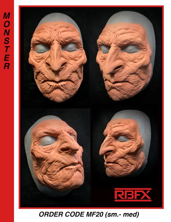 MF20 - orc/ monster/ alien face