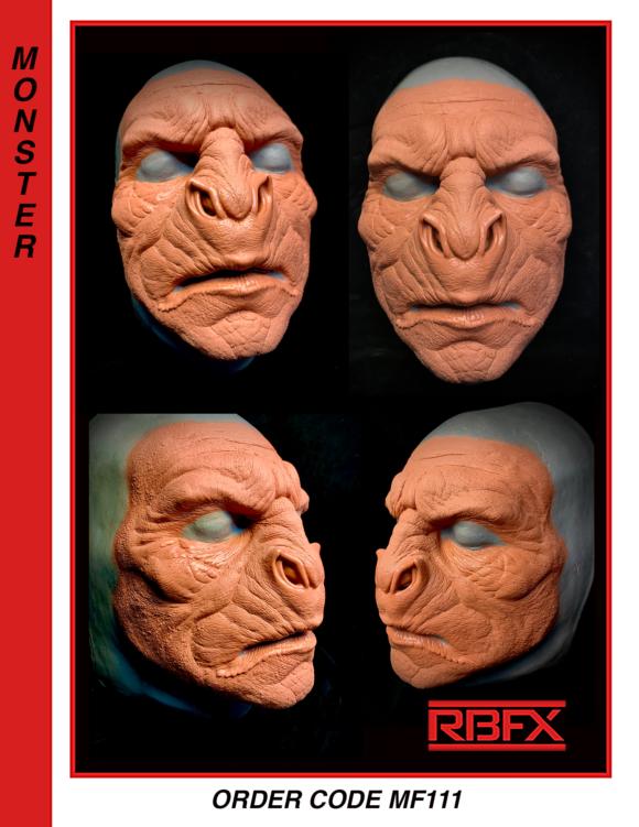MF111 - orc/ monster/ alien/ bat creature face