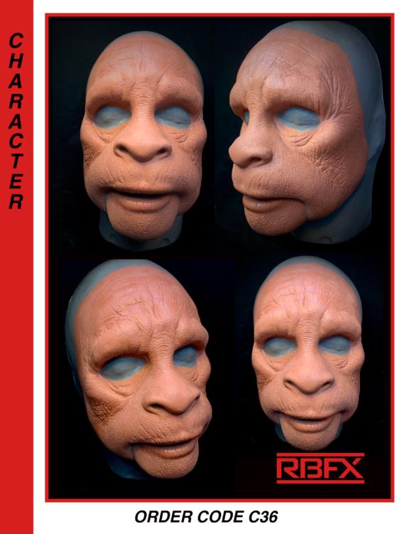 C36 - Sasquatch/ Bigfoot/ Yeti/ early man/ ape man